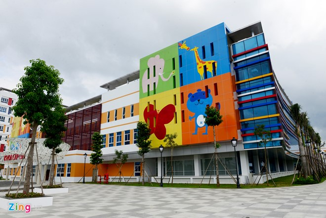THE CHILDREN'S HOSPITAL HAS OFFICIALLY PUT INTO OPERATION
